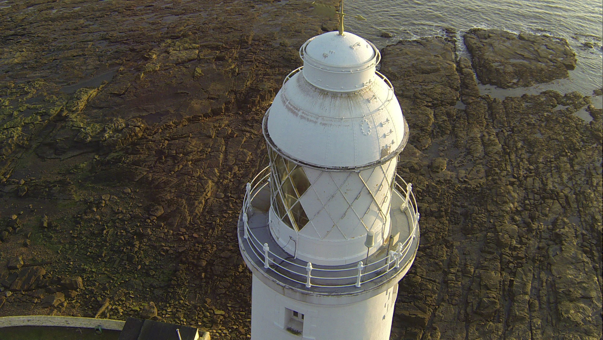 Lighthouse view from the top - Survey Drones