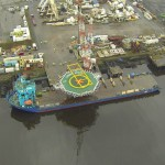 Aerial survey of shipyard - Survey drones